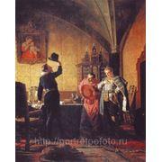 Присяга Лжедмитрия 1877год художник Николай Неврев, копия исполнена Владиславом Протасовым фото