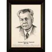 Графический портрет,как рисовать портрет, портреты писателей фото