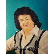 Портрет маслом на холсте фото