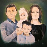 Портреты на заказ в Астане фото
