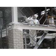 Огнезащитная обработка металлических конструкций фото