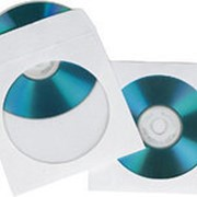 Конверт Hama на 1CD/DVD H-62672 белый фото
