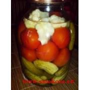 Ассорти овощное консервированное фото