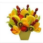 Составление композиций из фруктов фото