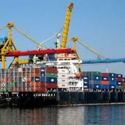 Морские перевозки. Доставка грузов из Китая и Европы фото