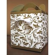 Коробочка для свадебного каравая и подарков фото