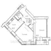 Адоратского, 71А ,№ 3 - Четаева, 2-комн. квартира улучшенная планировка фото