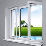 Окна и двери металлопластиковые фото