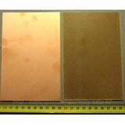 Текстолит фольгированный 1хсторонний 100*150 мм фото