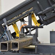Порезка металлопроката на ленточнопильном станке фото