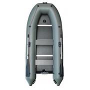 Надувная лодка Parsun 330E килевая зеленая фото