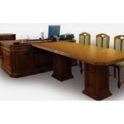 Стол бюро и приставка Viitorul, 2000 mm x 1000 mm фото