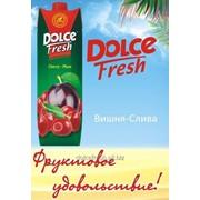 Сок Dolce Fresh вишня-слива фото