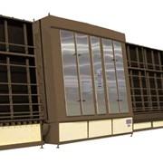 Вертикальные обрабатывающие центры по изготовлению стеклопакетов фото