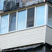 Остекленение балконов и лоджий фото