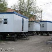 Блок - контейнеры на ходовой части фото