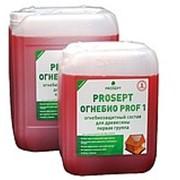 Огнебиозащитный состав 1-ая группа PROSEPT ОГНЕБИО PROF 1 фото