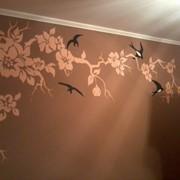 Розписи на стенах интерьеров и фасадов фото
