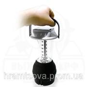 Динамо фонарь + солнечная зарядная панель. фото