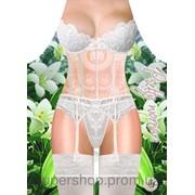 Фартук женский Белое кружевное белье 90-871297 фото