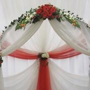 Оформление цветами, оформление свадеб фото