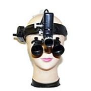 Комплект: Лупы бинокулярные (шлем) Optic x2,5-420HL-5 фото