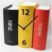 Креативные Часы Книги (Vintage Design) фото