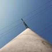 Строительство воздушных линий электропередач фото