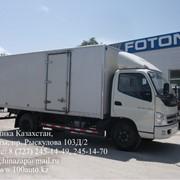 Изотермические фургоны FOTON, Автофургоны изотермические фото