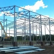 Здания и сооружения многоцелевого назначения. Строительство быстровозводимых зданий из металлоконструкций, с использованием термопрофилей и ЛСТК. фото