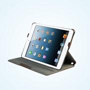 Коричневый чехол обложка для Apple iPad Mini фото