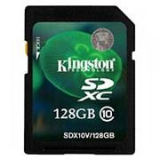 Карта памяти Kingston SDX10V/128GB фото