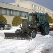 Механизированная уборка и вывоз снега фото