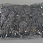 Пуговицы черные 8-28мм 280гр/~700шт 570764 фото