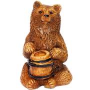 Медведь с бочкой фото