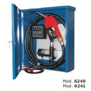 Комплект для перекачивания дизельного топлива с механ расходомером и шлангом фото