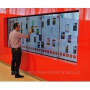 Интерактивная стена. фото