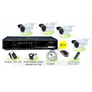 Комплект видеонаблюдения ZB-K2 из 4 уличных камер фото
