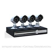 Комплект системы видеонаблюдения (4 камеры) фото