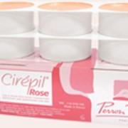 Воск низкотемпературный розовый Cirepil Rose фото