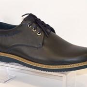 Туфли мужские синие Faber 127302 фото