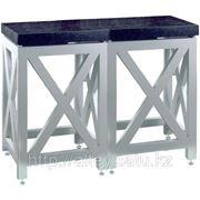 Стол весовой с гранитной плитой, антивибрационный фото