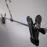 Вешалка с 2-мя прищепками, щип турецкий 30-40 см, Вешалки-прищепки фото