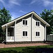 Уютный - дом из клееного бруса. Комплектация под крышу. фото