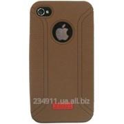 Чехол Xmart Professional для Apple iPhone 4 / 4s Brown фото