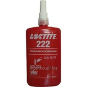 Фиксатор резьб низкой прочности, Loctite 222 (250ml) фото