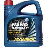 Масло моторное MANNOL NANO TECHNOLOGY SAE 10W-40; API SM/CF; ACEA A3/B4 фото