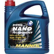 Масло моторное MANNOL DIESEL NANO TECHNOLOGY SAE 10W-40; API CI-4/SL; ACEA B4/A3 фото