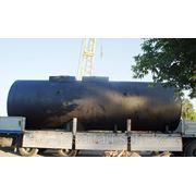 Резервуар горизонтальный стальной 50 м3, РГС-50 фото