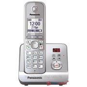 Радиотелефон PANASONIC KX-TG6721CAM (серый металлик) фото